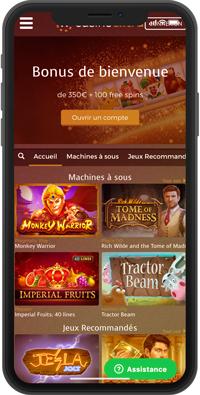 casino extra iphone