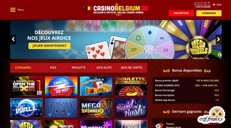 casino belgium avis interface