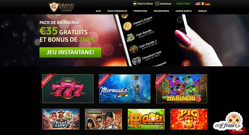 grand fortune casino avis
