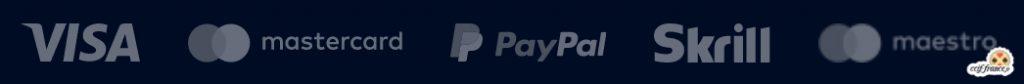 méthodes de paiement disponibles