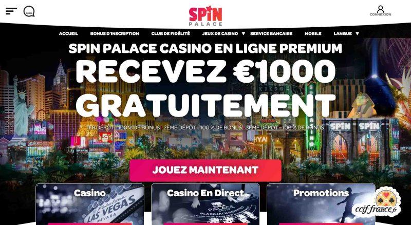 spin palace avis