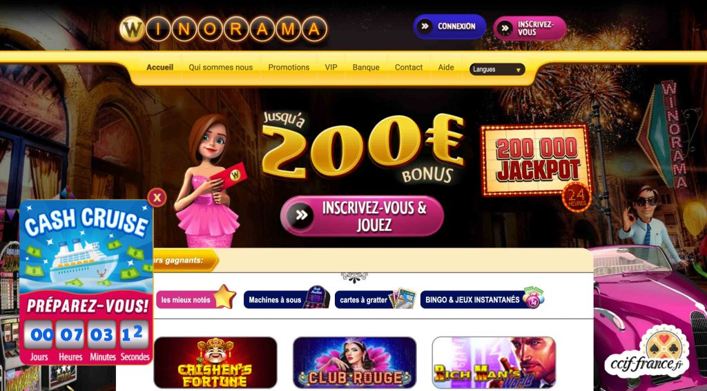 winorama casino avis