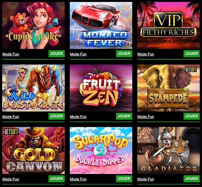 cashpot casino jeux