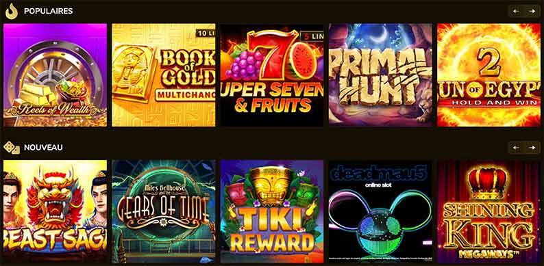 Jeux Kings Chance Casino