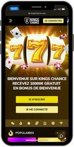 Mockup Kings Chance Casino