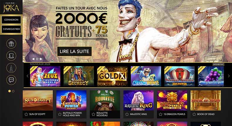 Accueil Joka Casino