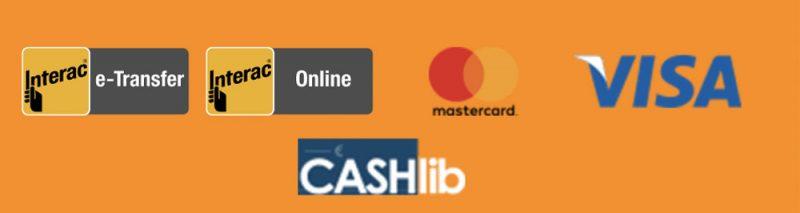 screenshot arlequin casino payment methods
