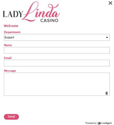 screenshot lady linda support